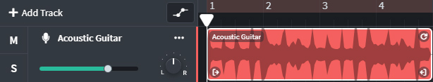Bandlab Acoustic Guitar Track