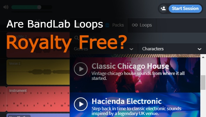 Are BandLab Loops Royalty Free?